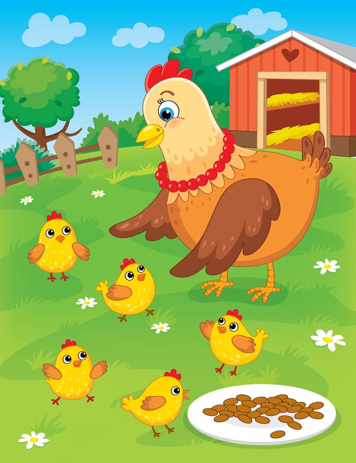 картинки с цыплятами для малышей пары
